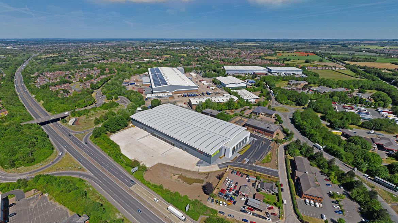 TO LET: Brand New Warehouse Premises