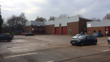 FOR SALE (MAY LET): Self Contained Industrial Warehouse Complex